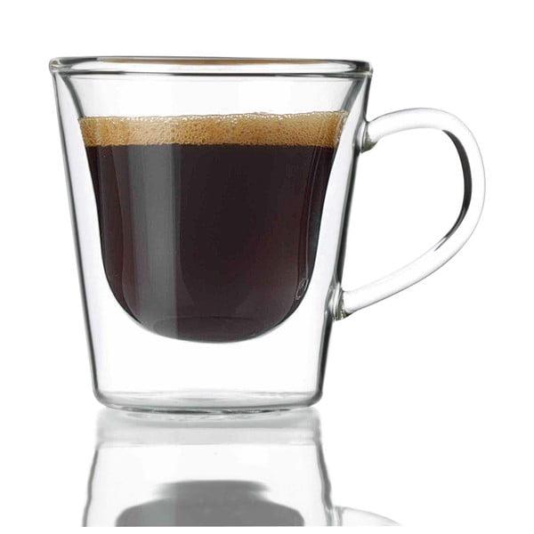 2 db-os duplafalú kávéspohár szett, 120 ml - Bredemeijer