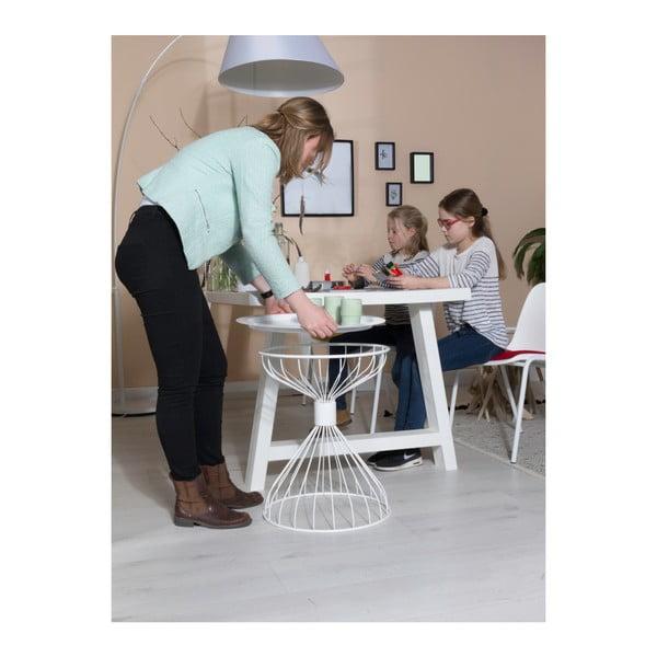 Kelly fehér kisasztal - Zuiver
