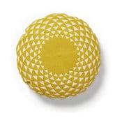 Zappa sárga díszpárna, ⌀ 45 cm - La Forma
