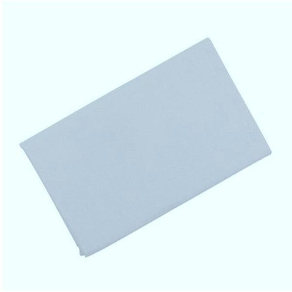 Grey világoskék pamut lepedő, 160 x 200 cm