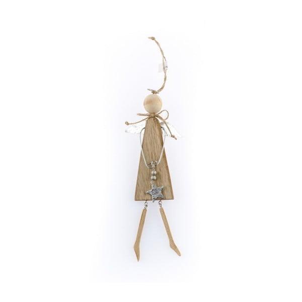 Angelo felakasztható angyal formájú fa dekoráció - Dakls