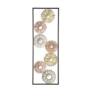 Gliss fém fali dekoráció, hossz 90 cm - Mauro Ferretti
