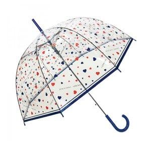 Hearts átlátszó esernyő - Susino