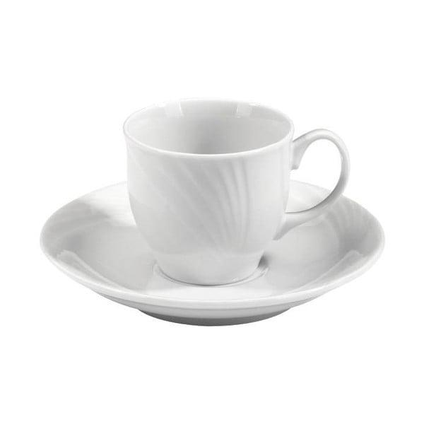 New Retro 6 db-os porcelán csésze és csészealj készlet - Kutahya