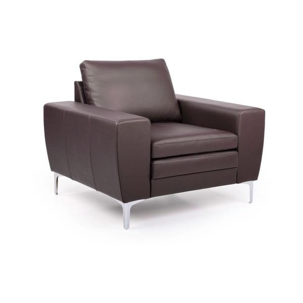 Twigo barna bőr fotel - Softnord