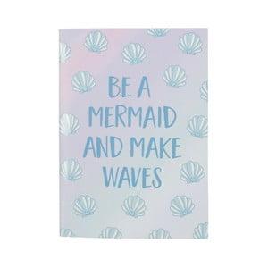 Mermaid jegyzetfüzet - Sass & Belle
