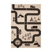 Road gyerekszőnyeg, 120 x 170 cm - Zala Living