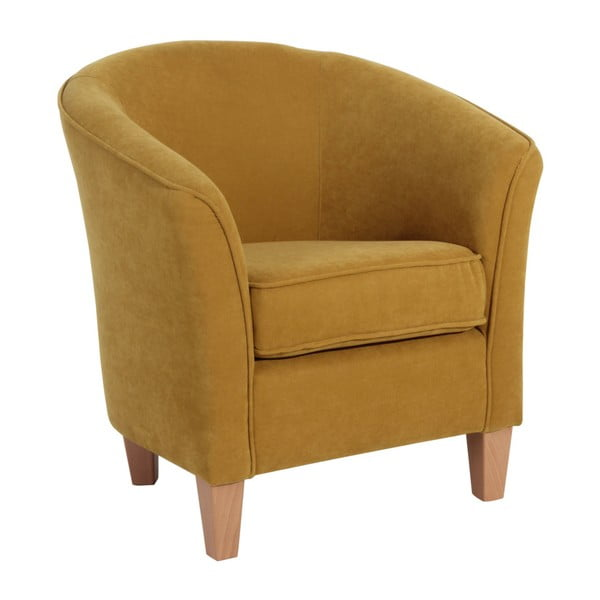 Livia sárga fotel - Max Winzer
