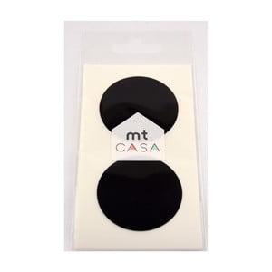 Casa 10 fekete washi matricát tartalmazó készlet - MT Masking Tape