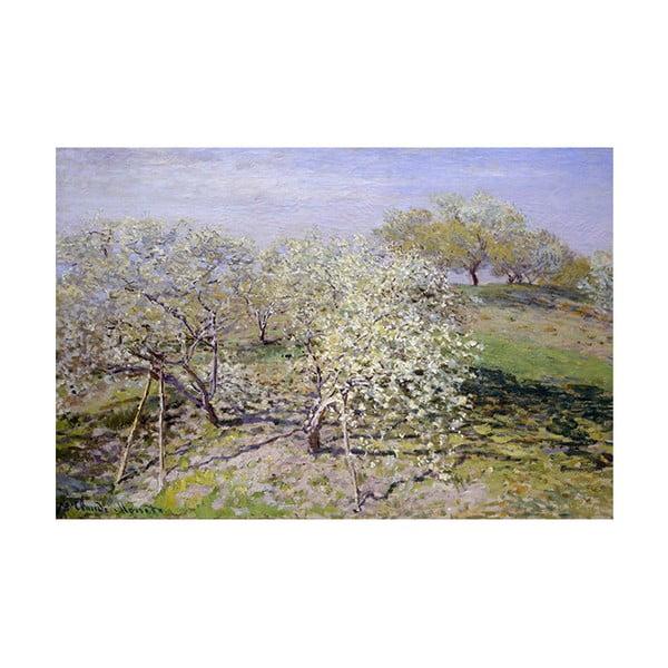Claude Monet - Spring kép másolat, 90 x 60 cm