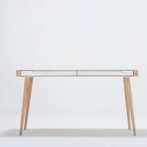 Ena tölgyfa íróasztal, 140 x 60 x 75 cm - Gazzda