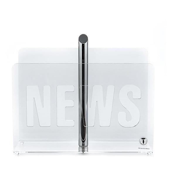 News átlátszó újságtartó állvány - Tomasucci
