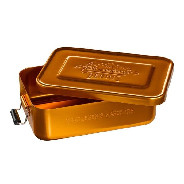 Gold Tin ételtároló doboz - Gentlemen's Hardware