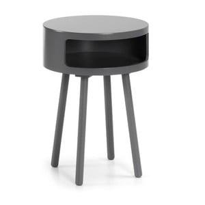 Bruk szürke tárolóasztal tárolóhellyel - La Forma