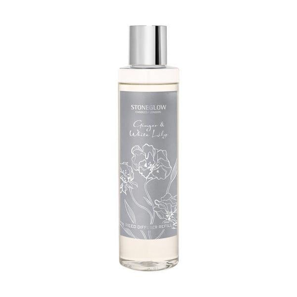 Aromadiffúzor utántöltő gyömbér és fehér liliom illattal - Stoneglow