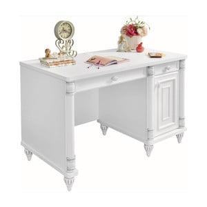 Romantic Study Desk fehér íróasztal