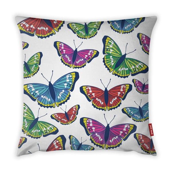 Butterflies párnahuzat, 43 x 43 cm - Vitaus