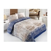 Pasula kétszemélyes steppelt ágytakaró párnahuzatokkal, 200 x 220 cm