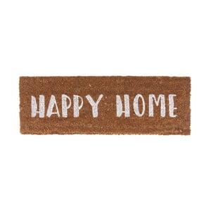 Happy Home lábtörlő fehér felirattal, 26 x 75 cm - PT LIVING