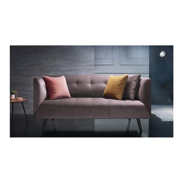 Paris rózsaszín háromszemélyes kanapé - Bobochic Paris