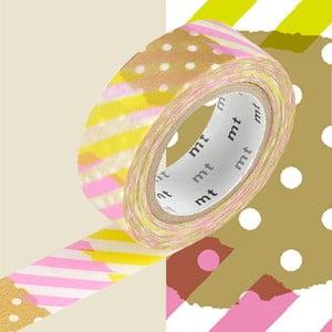Deline washi dekortapasz, hosszúság 10 m - MT Masking Tape