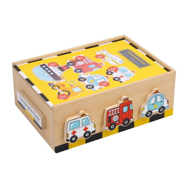 Vehicles fa puzzle - Legler
