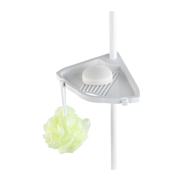 Easy fehér teleszkópos fürdőszobapolc rendszer - Wenko