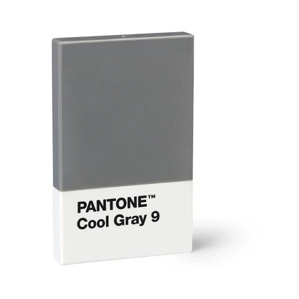 Szürke névjegykártya tartó - Pantone