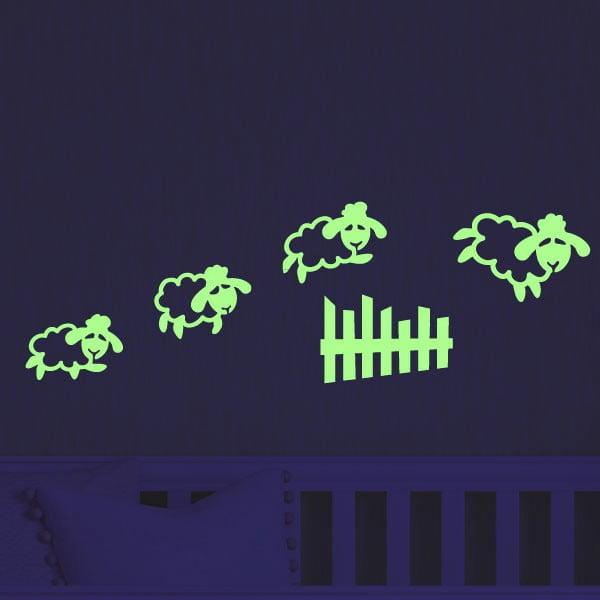 Fanastick Jimping Sheet sötétben világító matrica - Ambiance