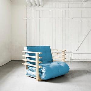 Funk Natural/Horizon Blue széthúzható fotel - Karup