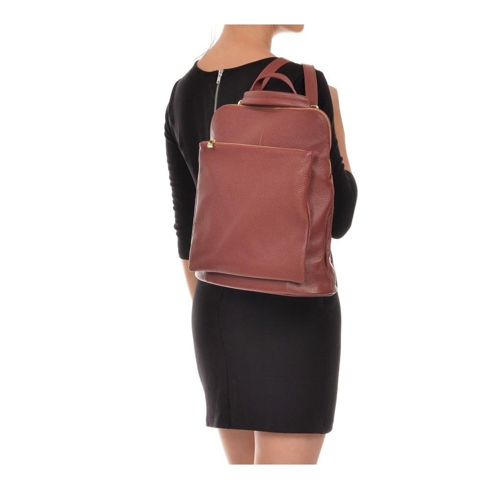 Gunna Rosso piros bőr női hátizsák - Isabella Rhea ... 106932cc25