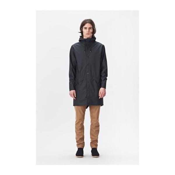 Long Jacket fekete uniszex kabát nagy vízállósággal, méret: S / M - Rains