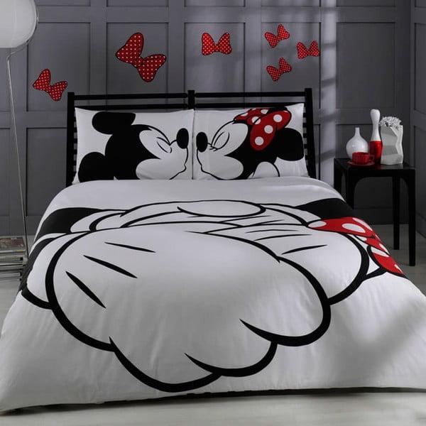 TAC Mickey kétszemélyes pamut ágyneműhuzat, 200 x 220 cm