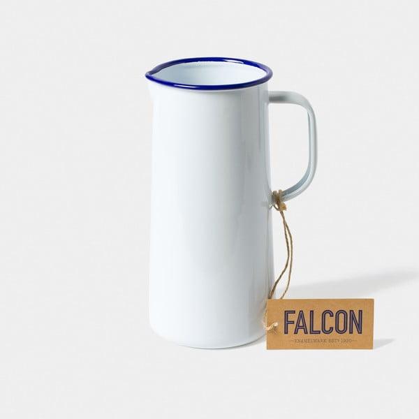 TriplePint fehér zománcozott kancsó, 1,704 l - Falcon Enamelware