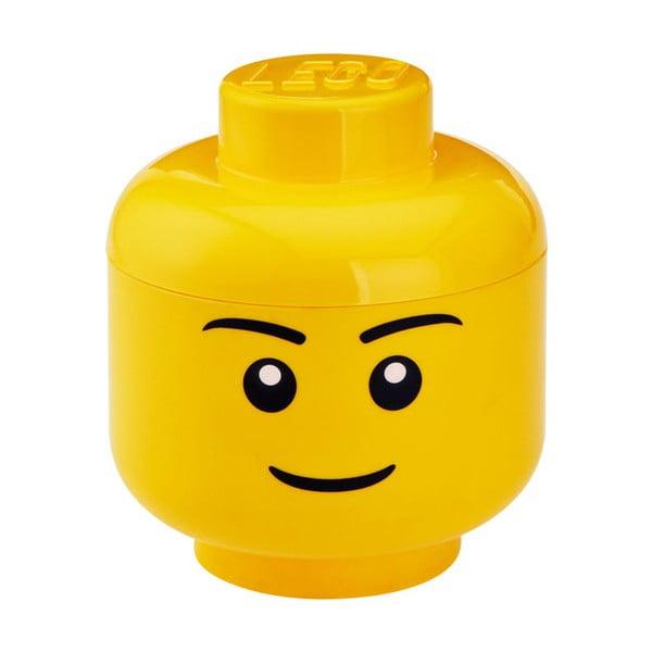 Boy figura fej tárolódoboz, ⌀ 24,2 cm - LEGO®