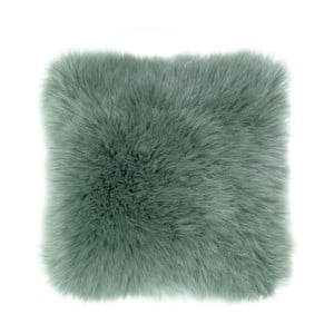 Sheepskin zöld díszpárna, 45 x 45 cm - Tiseco Home Studio