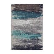 Garida Aqua Abstract szőnyeg, 80 x 150 cm
