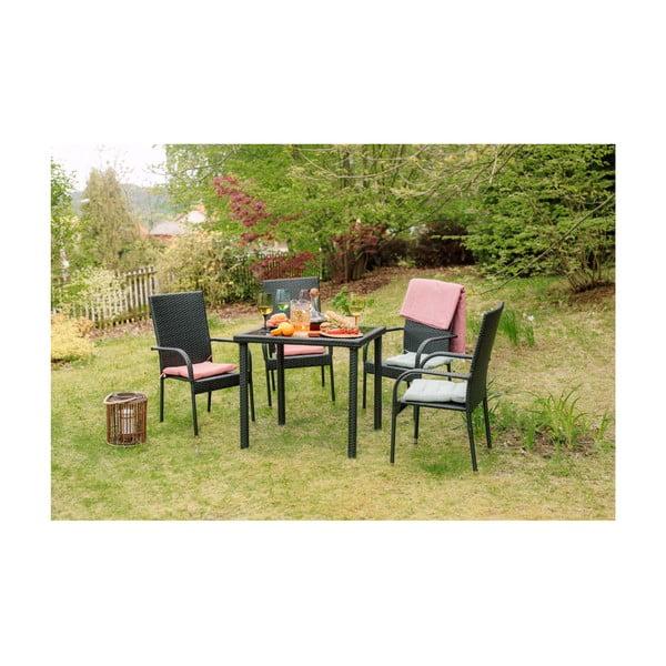 Simba kerti bútor garnitúra, mesterséges rattanból - Timpana