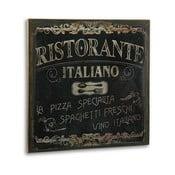 Ristorante Italiano fából készült kép - Versa