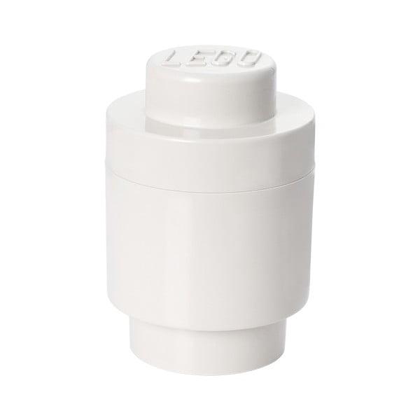 Fehér henger alakú tárolódoboz - LEGO®