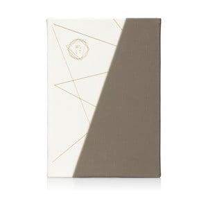 WLLT szürke-fehér notesz - npw™