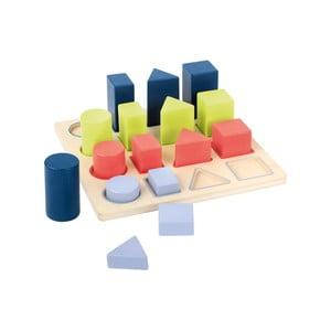 Geometry fa beillesztős játék - Legler