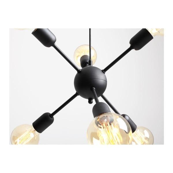 Vanwerk Ball fekete hatágú függőlámpa - Custom Form