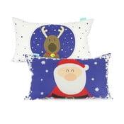 Christmas pamut párnahuzat, 50 x 30 cm - Mr. Fox