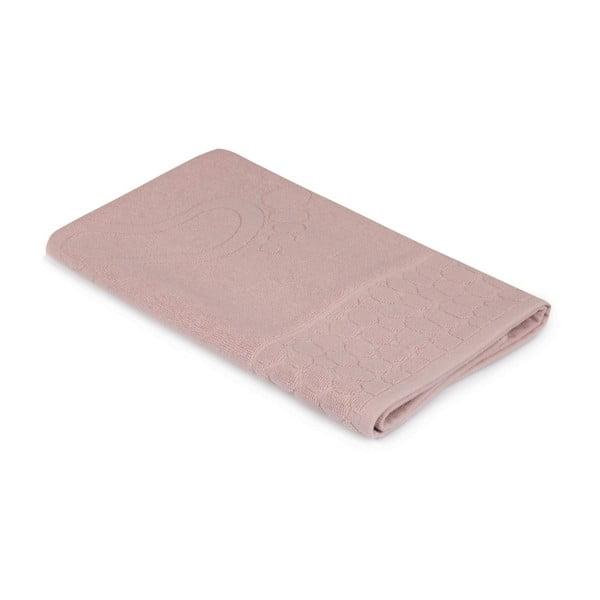 Pastela dusty rose rózsaszín fürdőszobaszőnyeg, 70 x 50 cm