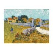 Vincent van Gogh - Farmhouse in Provence festményének másolata, 40 x 30 cm