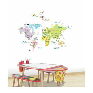 World Map for Children falmatrica szett - Ambiance
