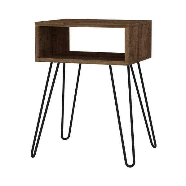 Tuana barna kisasztal