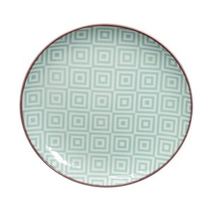 Geo Eclectic zöld tányér, 16 cm - Tokyo Design Studio