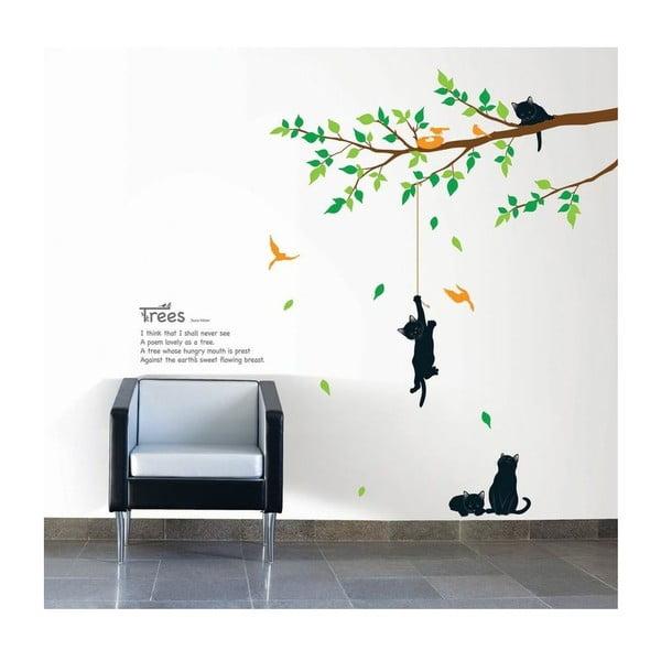 Tree And Cat falmatrica szett - Ambiance